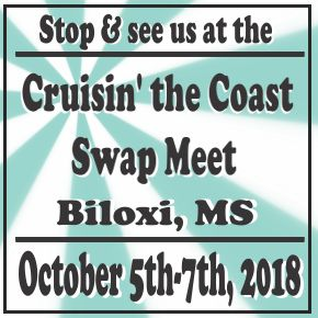 Visit us at the Fall Jefferson Swap Meet September 28th-29th, 2018