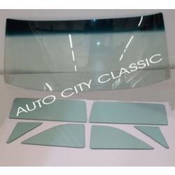 1961-1962 Ford and Mercury Convertible Windshield and Side Glass Set 6062FMCONVWSS