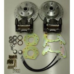1960-1965 Ford Falcon Power Disc Brake Changeover Kit for 6 Cylinder Spindles 5 Lug 6065FALC5LUG