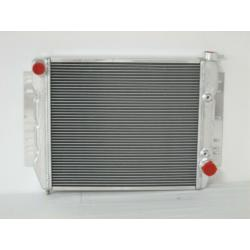 1959-1970 Chevy Full Size Passenger Cars Cross Flow / 1967-1969 Camaro and Firebird Small Block Aluminum Radiator SL-104A-AT