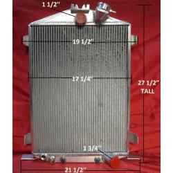 1932 Ford Hi-Boy Radiator with Chevy Motor SL-124A-AT
